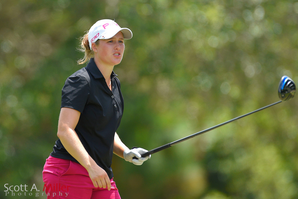 Augusta James during the third round of the Symetra Tour's Chico's Patty Berg Memorial on April 18, 2015 in Fort Myers, Florida.<br /> <br /> &copy;2015 Scott A. Miller