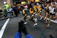 11/3/2007. NEW YORK, NY, USA. Start of the U.S. Olympic Marathon Trails. IPAPHOTO.COM