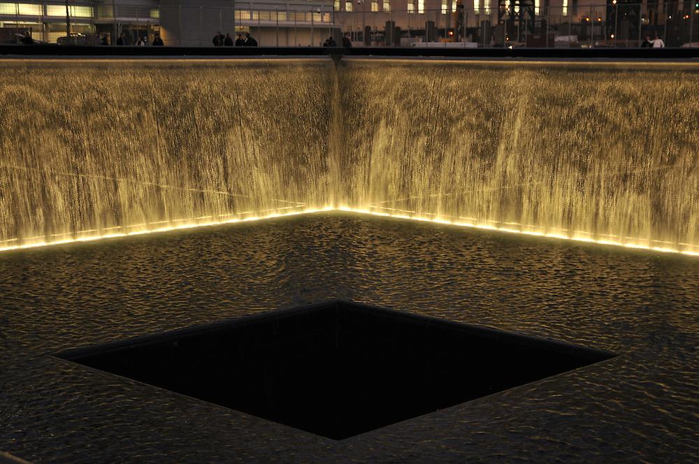 9 -11 Memorial, designed by Michael Arad, Manhattan, New York City, New York