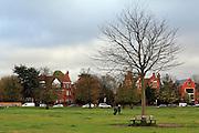 Winter on Wimbledon Common, London SW19