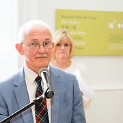 30.05. 2017.                                             <br /> Limerick Museum opened the doors to its new home at the former Franciscan Friary on Henry Street in the heart of Limerick city, dedicated to the memory of Jim Kemmy, the former Democratic Socialist Party and Labour Party TD for Limerick East and two-time Mayor of Limerick.<br /> <br /> Pictured at the opening of the new Museum was Dr. Matthew Potter.<br /> <br /> The museum will house one of the largest collections of any Irish museum. Picture: Alan Place