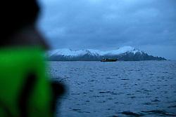 NORWAY ANDENES 8DEC15 - Whale research trip off the coast of Andenes, Norway.<br /> <br /> jre/Photo by Jiri Rezac / Greenpeace<br /> <br /> © Jiri Rezac 2015