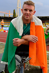 Patrick Monahan, IRE after competing in the T53 800m at the Berlin 2018 World Para Athletics European Championships