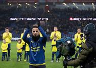 Hany Mukhtar (Brøndby IF) hyldes for hans afskedskamp før kampen i 3F Superligaen mellem Brøndby IF og Hobro IK den 15. december 2019 på Brøndby Stadion (Foto: Claus Birch).
