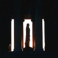 Jefferson Memorial, Washington, D.C. Photographed in 1999.