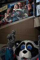 KELOWNA, CANADA - JANUARY 7: A young fan on January 7, 2017 at Prospera Place in Kelowna, British Columbia, Canada.  (Photo by Marissa Baecker/Shoot the Breeze)  *** Local Caption ***