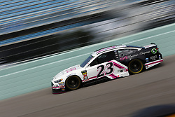 November 17, 2018 - Homestead, Florida, U.S. - JJ Yeley (23) takes to the track to practice for the Ford 400 at Homestead-Miami Speedway in Homestead, Florida. (Credit Image: © Justin R. Noe Asp Inc/ASP)
