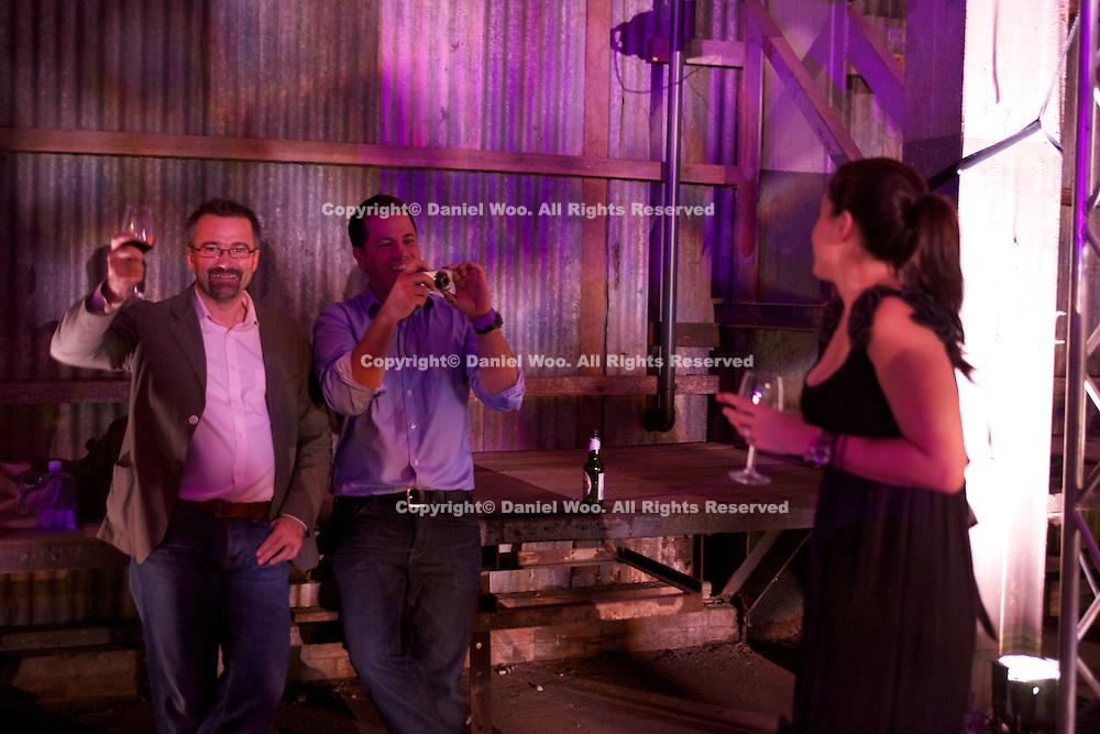 AIMIA Awards night held at the Turbine Hall Cockatoo Island.