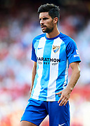 SEVILLE, SPAIN - SEPTEMBER 30:  Adrian Gonzalez of Malaga CF looks on during the La Liga match between Sevilla and Malaga at Estadio Ramon Sanchez Pizjuan on September 30, 2017 in Seville  (Photo by Aitor Alcalde Colomer/Getty Images)