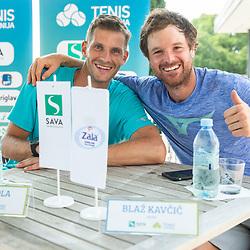 20200811: SLO, Tennis - Press conference of Tenis Slovenija in Portoroz