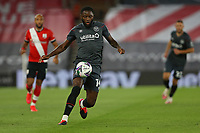 Football - 2020 / 2021 EFL Cup - Round 2 -Southampton vs. Brentford <br /> <br /> Josh Dasilva of Brentford in action during the EFL cup tie at St Mary's Stadium Southampton<br /> <br /> COLORSPORT/SHAUN BOGGUST