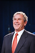Texas Gov. George W. Bush during a campaign fundraising event June 22, 1999 in Washington, DC. Bush is the frontrunner for the Republican presidential nomination in the Year 2000.