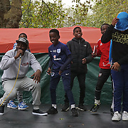 London, UK. 8th October, 2016. Smokey 9278 preforms at The Tottenham Green Multicultural Festival,London,UK. Photo by See Li