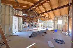 Meigs Point Nature Center at Hammonasset Beach State Park  <br /> Connecticut State Project No: BI-T-601<br /> Architect: Northeast Collaborative Architects  Contractor: Secondino & Son<br /> James R Anderson Photography New Haven CT photog.com<br /> Date of Photograph: 20 November 2015<br /> Camera View: 17