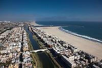 Venice Beach in California.