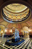Interior view of the California State Capital Building, Sacramento, California