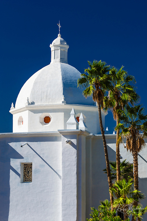 Immaculate Conception Catholic Church, Ajo. Arizona, USA