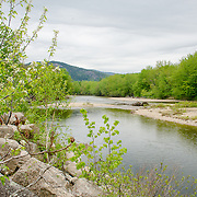 The Saco River in the spring