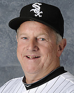 GLENDALE, AZ - FEBRUARY 26:  Jeff Cox #8 of the Chicago White Sox poses for a portrait during photo day on February 26, 2011 at Camelback Ranch in Glendale, Arizona. (Photo by Ron Vesely)