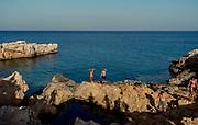 Greece, Koufonissi, bathing