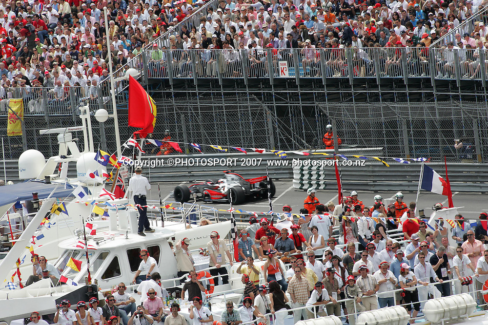 Fernando Alonso, McLaren-Mercedes<br /> Monaco F1 Grand Prix<br /> Monte Carlo<br /> Sunday 27 May 2007<br /> Photo: ATP/PHOTOSPORT