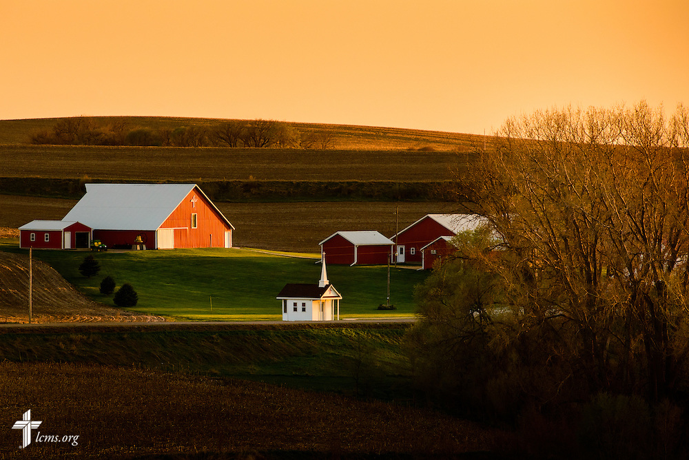 The Mission Central campus at sunset on Wednesday, April 22, 2015, in Mapleton, Iowa. LCMS Communications/Erik M. Lunsford