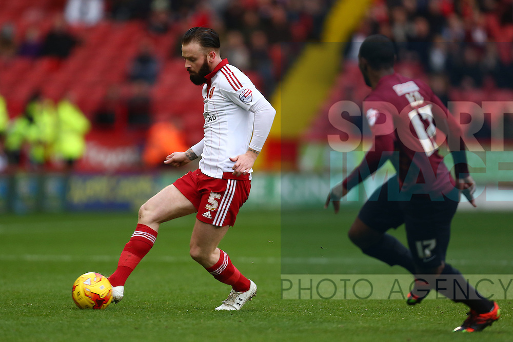 Sheffield United's Josh Brayford - Sheffield United vs Bradford City - Skybet League One - Bramall Lane - Sheffield - 28/12/2015 Pic Philip Oldham/SportImage