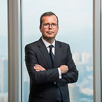 Pierre Vrielinck, Chief Executive Officer of Asia Pacific at BNP Paribas Wealth Management, poses for a photo at the Two International Finance Centre on 18 September 2017, in Hong Kong, China. Photo by Victor Fraile / studioEAST