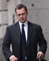 Andy Coulson arrives at the Old Bailey for his trial Friday March 8, 2013. Photo by Max Nash / i-Images...Contact..Andrew Parsons: 00447545 311662.Stephen Lock: 00447860204379
