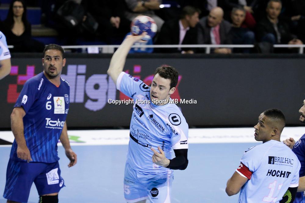 Benoit Dore - 05.03.2015 - Montpellier / Cesson Rennes - 17eme journee de Division 1<br />Photo : Andre Delon / Icon Sport