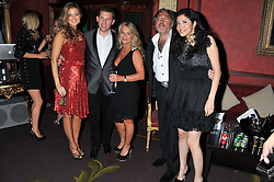 Left to right, HOLLY VALANCE, NICK CANDY, LADY TINA GREEN, ROBERT TCHENGUIZ and ELAINE ZHANG at the 39th birthday party for Nick Candy in association with Ciroc Vodka held at 5 Cavindish Square, London on 21st Januatu 2012.