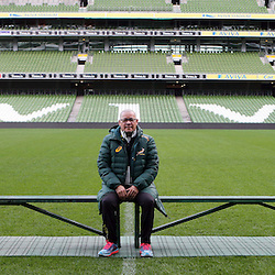 DUBLIN, IRELAND - NOVEMBER 07: Charles Wessels Operational Head during the South African National rugby team photo and captains run at AVIVA Stadium on November 07, 2014 in Dublin, Ireland. (Photo by Steve Haag/Gallo Images)
