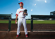 Pitcher Huston Street poses during the Angels' Photo Day at Spring Training in Tempe, AZ on Tuesday, February 21, 2017. (Photo by Kevin Sullivan, Orange County Register/SCNG)