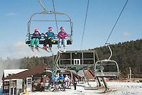 Skiing and Snowboarding at Gunstock Mountain Resort.  Karen Bobotas for the Laconia Daily Sun