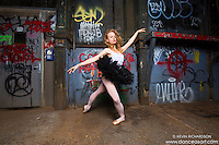 Ballerina Sigrid Glatz Cortlandt Alley New York City Dance As Art The New York Photography Project