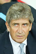 Pellegrini  during the Capital One Cup match between Sunderland and Manchester City at the Stadium Of Light, Sunderland, England on 22 September 2015. Photo by Simon Davies.