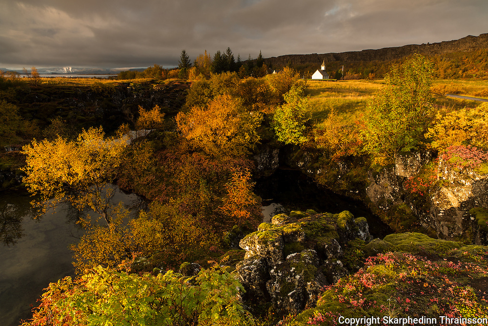 Autumn in Þingvellir national park