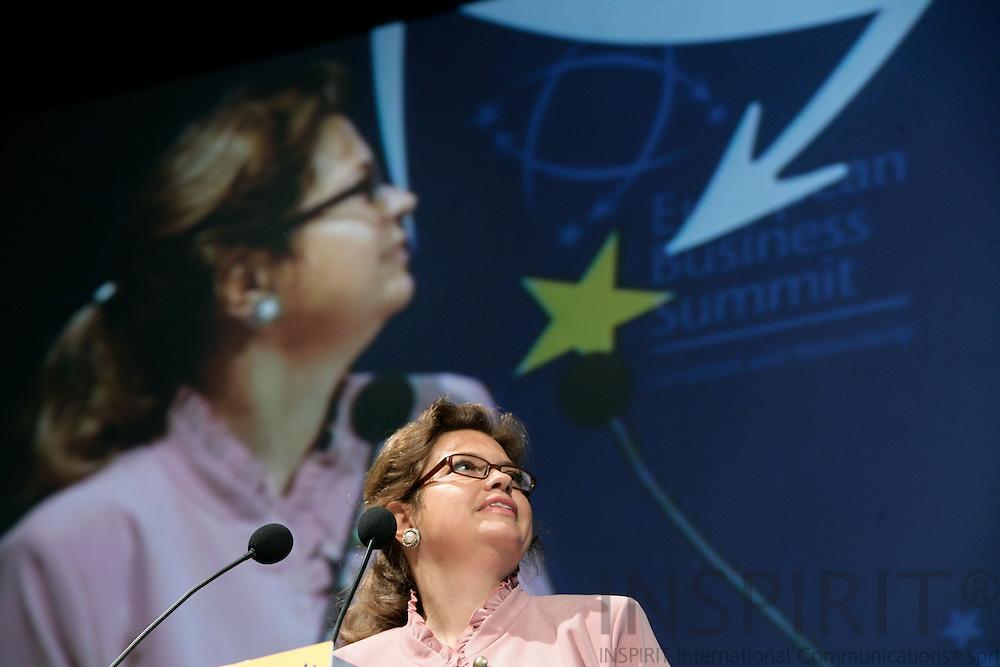 BRUSSELS - BELGIUM - 16 MARCH 2007 -- Signhild ARNEGAARD-HANSEN, Vice President, Confederation of Swedish Enterprise, CEO, Svenska LantChips. -- PHOTO: ERIK LUNTANG