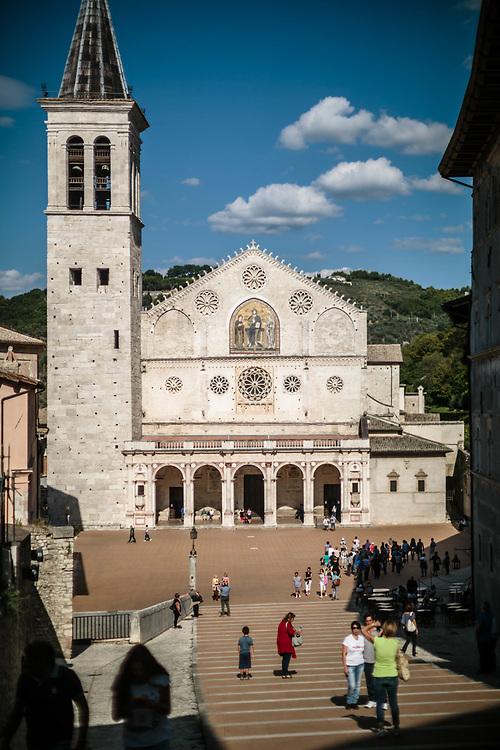 12 SEP 2015 - Spoleto (PG) - Cattedrale di Santa Maria Assunta.
