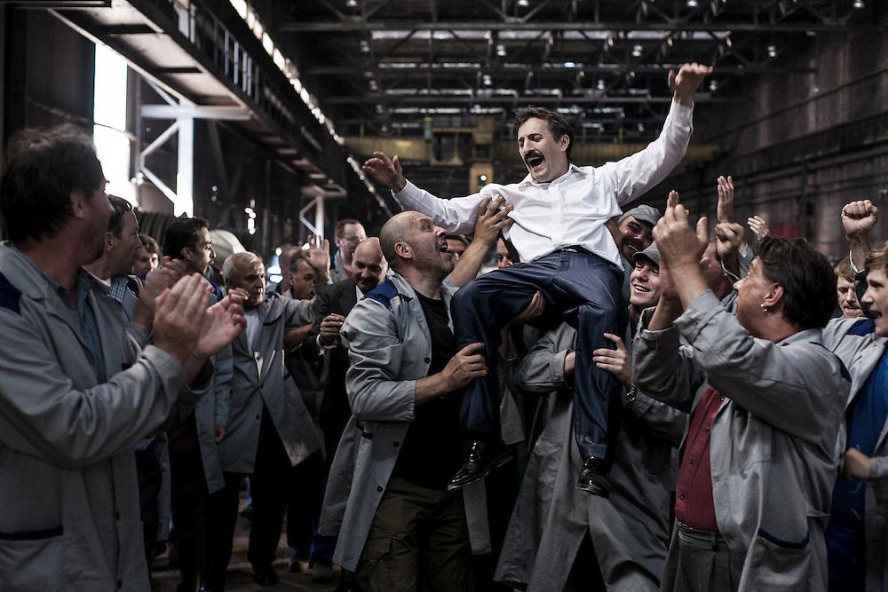 Martin Marion in the scene from feature film State of shock-Stanje šoka, director: Andrej Košak; scinematography: Slobodan Trninić; still: Željko Stevanić/IFP