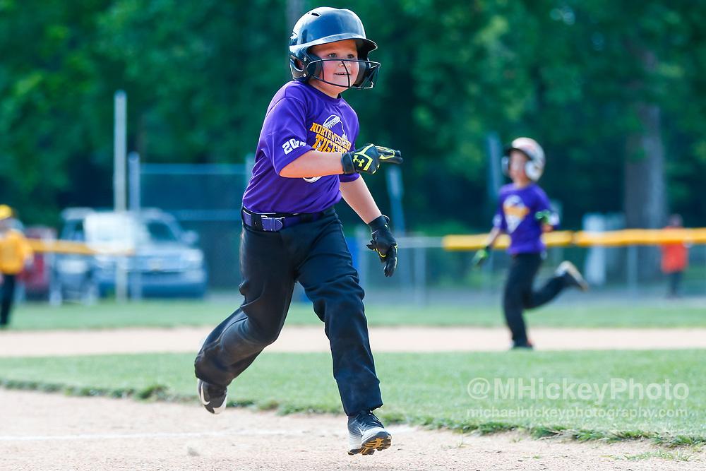 Northwestern Rookie League Baseball at South Side Little League Diamond in Kokomo, In