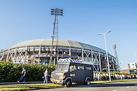 ROTTERDAM - Feyenoord - FC Utrecht , Voetbal , Seizoen 2015/2016 , Eredivisie , Stadion de Kuip , 08-08-2015 , ME Bus voor de Kuip