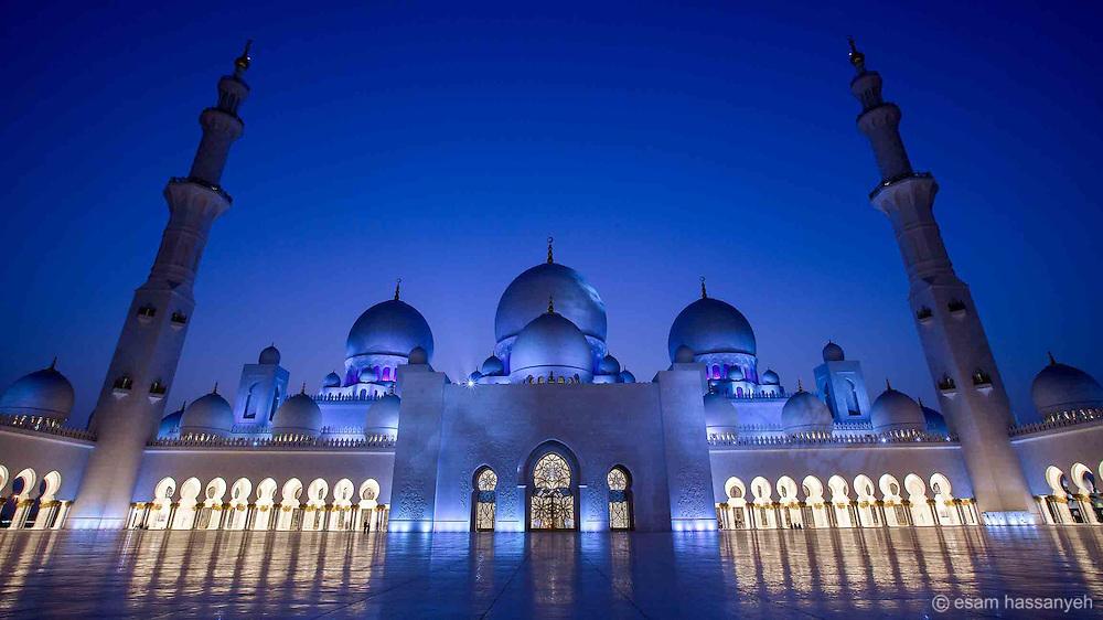 Esam Hassanyeh, Sheikh Zayed Mosque, Abu Dhabi