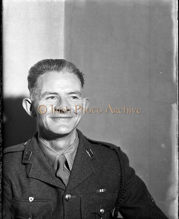 Radio Review - Crossword Winner of £750 - Private Brendan Carmody<br /> 14/11/1953