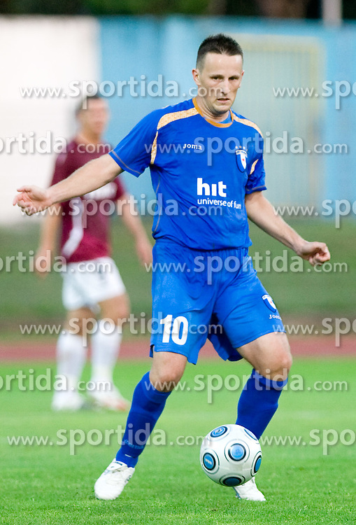 Admir Krsic of Gorica at 1st football match of 2nd preliminary Round of UEFA Europe League between ND Gorica and FC Lahti, on July 16 2009, in Nova Gorica, Slovenia. (Photo by Vid Ponikvar / Sportida)