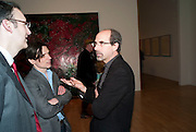 JEREMY DELLER; STEPHEN DEUCHAR, Chris Ofili dinner to celebrate the opening of his exhibition. Tate. London. 25 January 2010