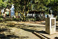 Praça Hercílio Luz, no centro histórico de São José. São José, Santa Catarina, Brasil. / Hercilio Luz Square, in historic center of Sao Jose. Sao Jose, Santa Catarina, Brazil.