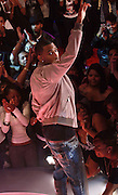 Trey Songz performs during BET's '106 & Park' 10 year anniversary celebration at BET Studios on October 6, 2010 in New York City.