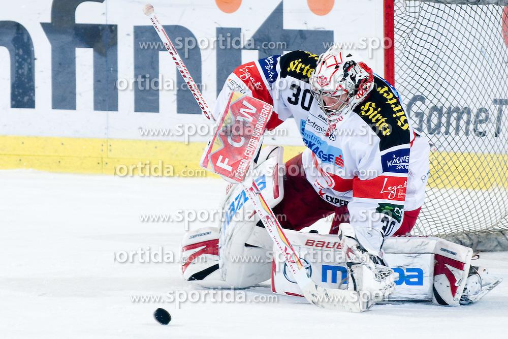 Rene Swette (EC KAC, #30) during ice-hockey match between HDD Tilia Olimpija and EC KAC in 32nd Round of EBEL league, on December 30, 2010 at Hala Tivoli, Ljubljana, Slovenia. (Photo By Matic Klansek Velej / Sportida.com)