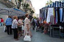 Street market in Santander, Spain<br /> <br /> (c) Andrew Wilson | Edinburgh Elite media